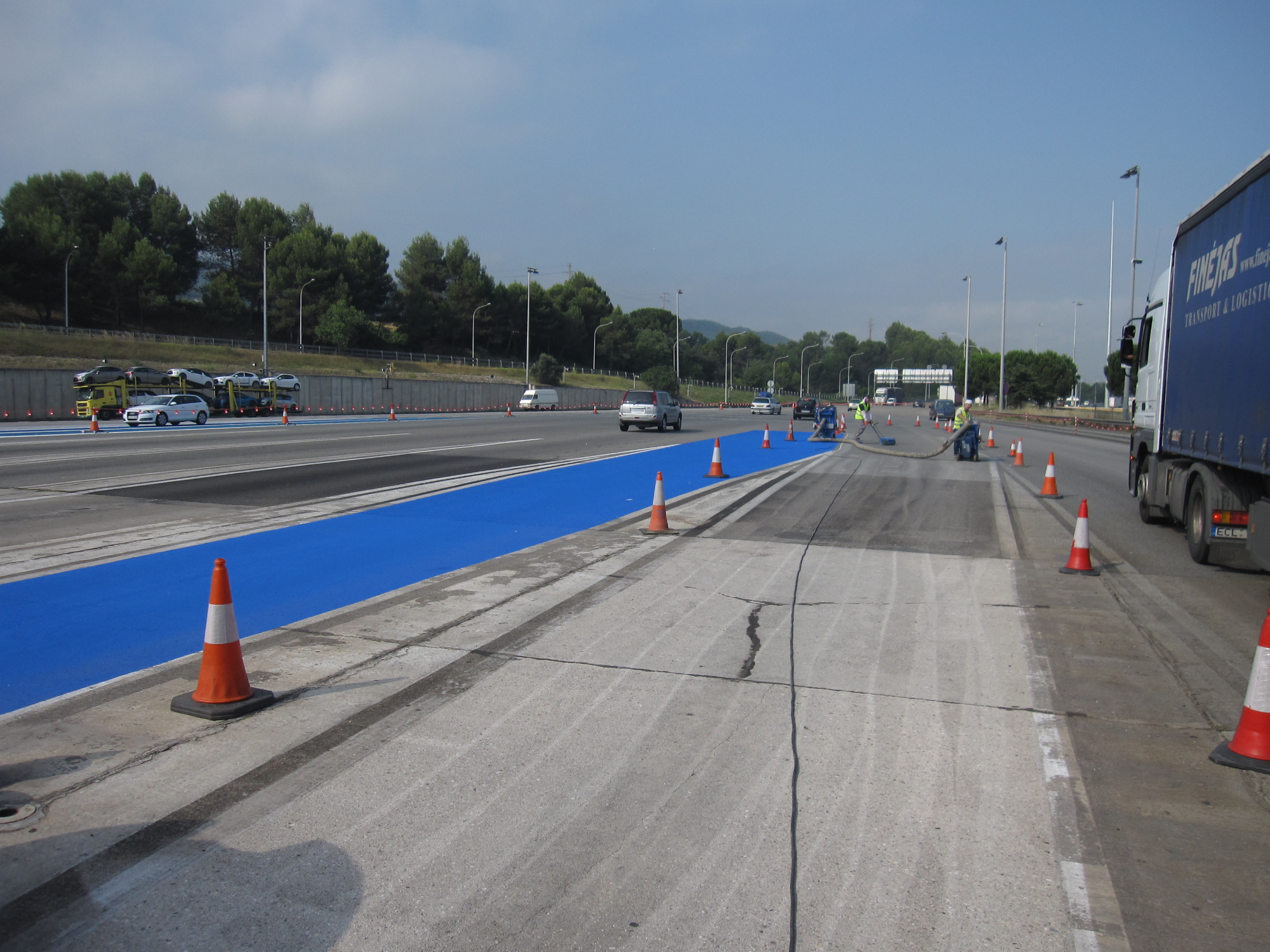 ACESA Autopistas – Pavimentos antideslizantes