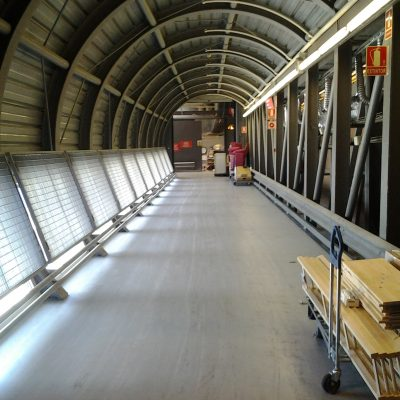 IKEA TUNEL  Y RAMPA MERCANCIAS  – Badalona