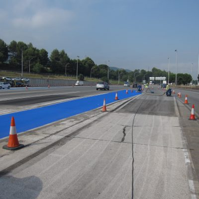 ACESA Motorways – Non-slip floors