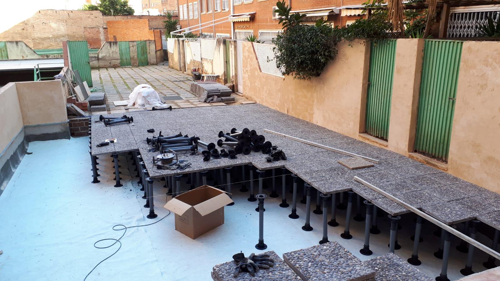 San Ramón Nonato – Impermeabilización de un suelo