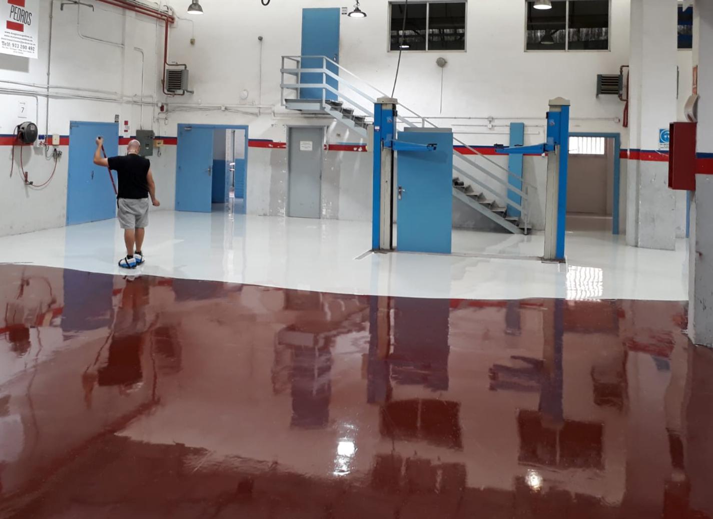 ESCUELA INSTITUTO CAPARRELLA – Renovación pavimentos taller